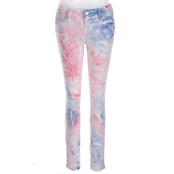Guess Denim - Guess Brittney Marble Skinny Jeans 27